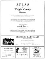 Title Page, Wright County 1956